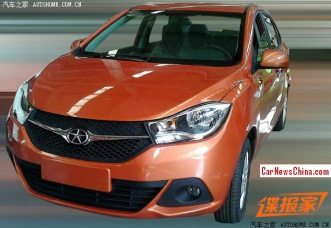 Spy Shots: JAC Heyue A20 is getting Ready for the China car market