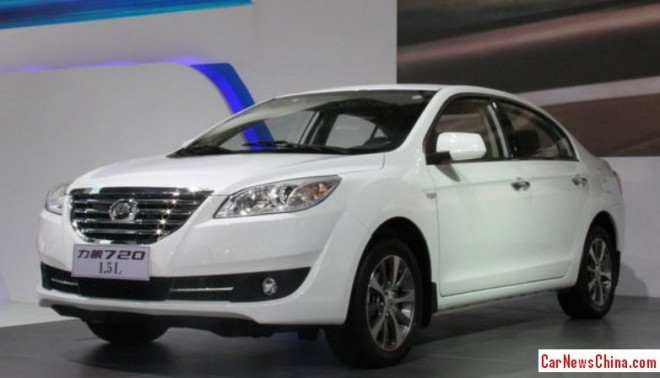 Lifan 720 1.5 launched on the China car market
