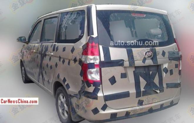Spy Shots: Lifan mini MPV testing in China