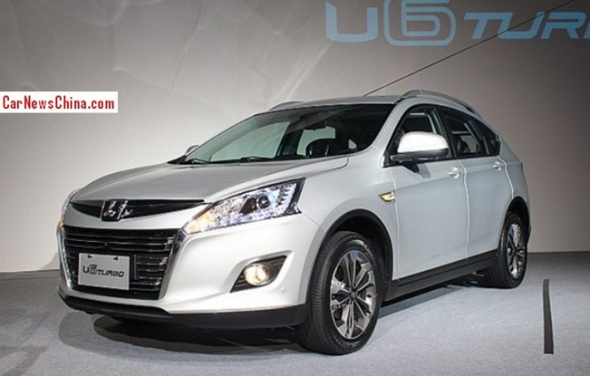 Luxgen U6 Turbo SUV debuts in Taiwan