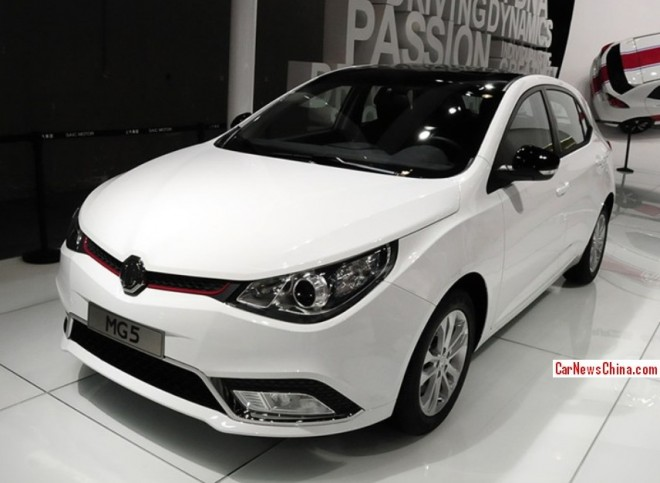 MG5 Turbo hits the 2013 Guangzhou Auto Show & the China car market