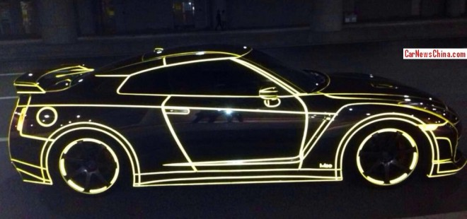nissan-gtr-glow-dark-china-4