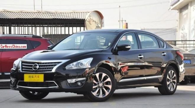 Nissan Teana VIP hits the China car market