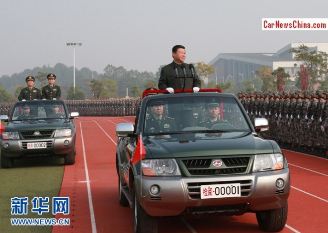 President Xi Jinping has a new Parade Car in China