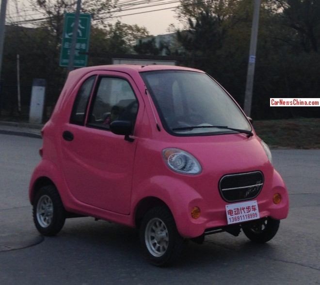 Electric Cars go Pink in China