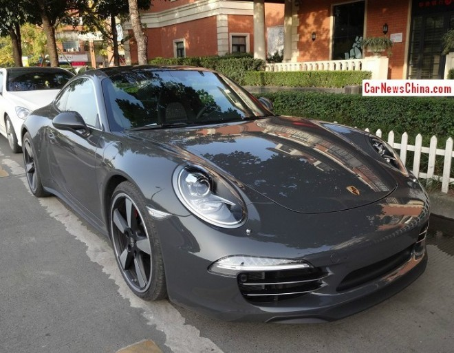Spotted in China: Porsche 911 50th Anniversary Edition