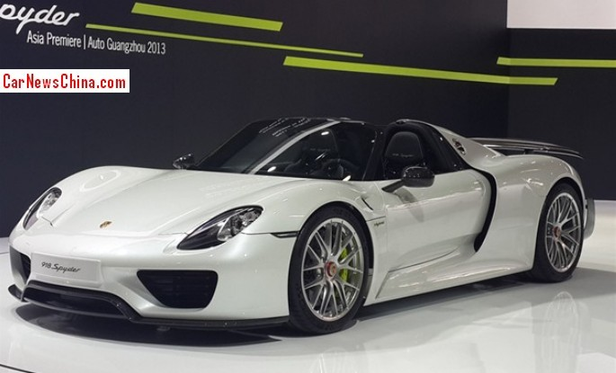 porsche 918 spyder wallpaper white - Porsche Spyder 918 White