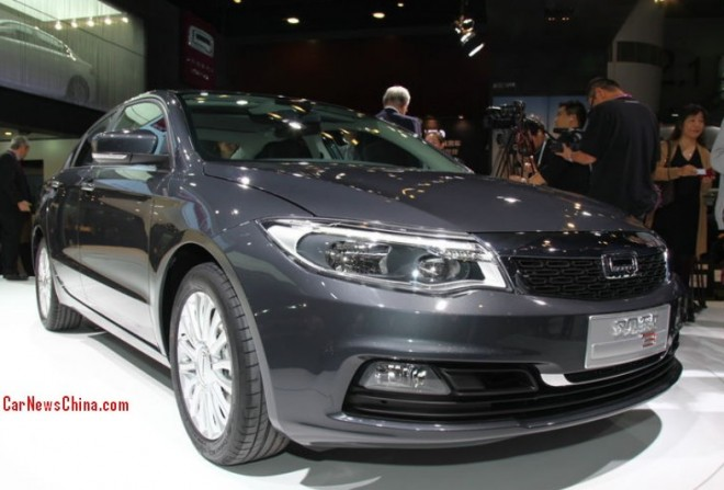 Qoros 3 Sedan hits the China car market on the 2013 Guangzhou Auto Show