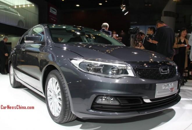 Qoros 3 Sedan hits the China car market on the 2013 Guangzhou Auto Show