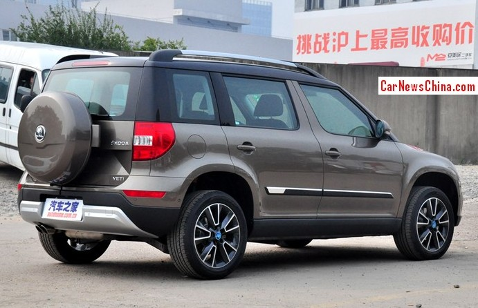 Stretched Skoda Yeti Will Debut On The Guangzhou Auto Show