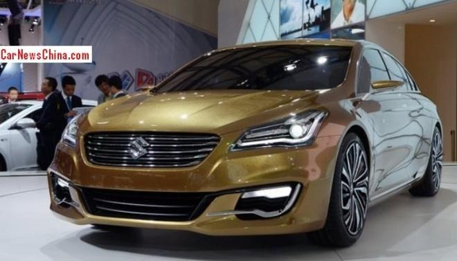 Suzuki Authentics sedan will be made in China