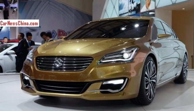 Suzuki Authentics sedan will be made in China