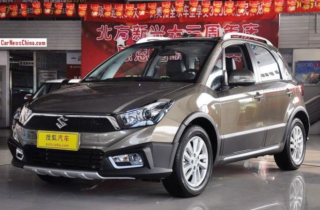 Suzuki SX4 20th Anniversary Edition hits the China car market