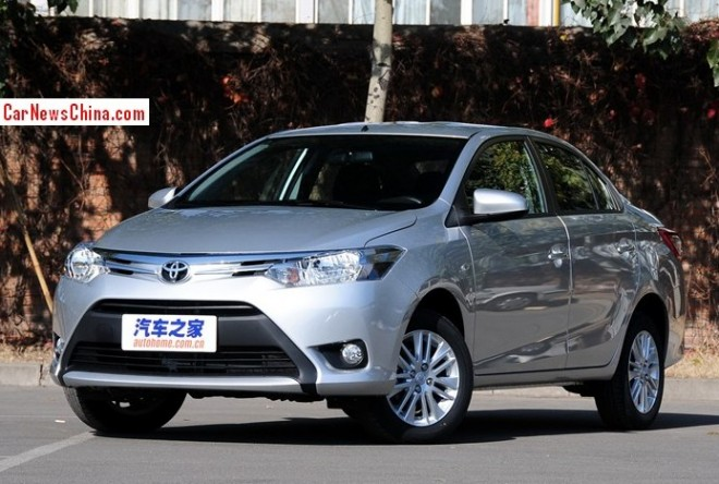 New Toyota Vios launched on the China car market