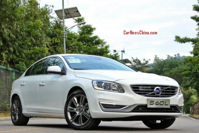 Volvo S60L might be exported from China to the United States