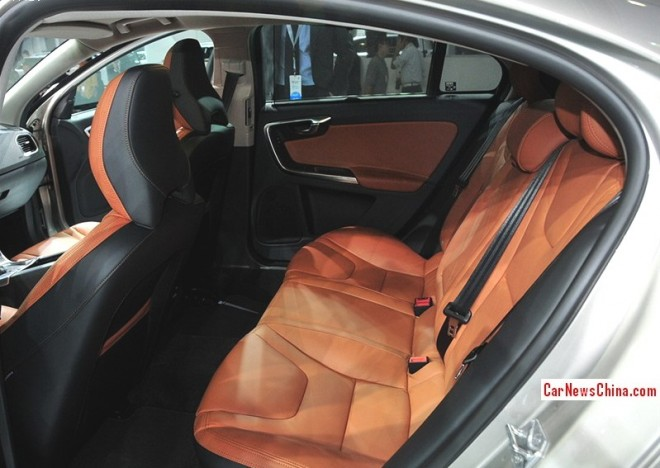 This is the stretched Volvo S60L for the China car market