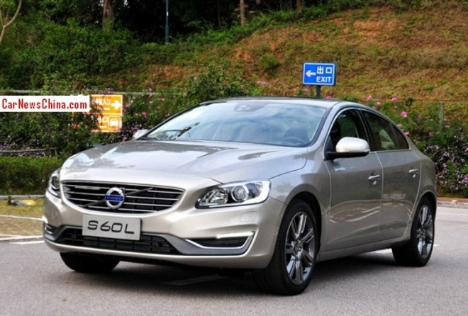 Volvo S60L is Ready for the China car market