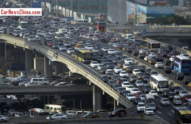 Beijing will cut new car registration quota by 37.5%