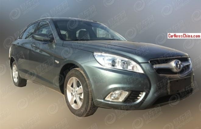 Spy Shots: Beijing Auto C50E is Ready for the China car market