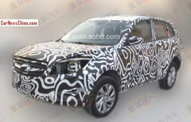 Spy Shots: 2014 Beijing Auto C51X seen testing in China