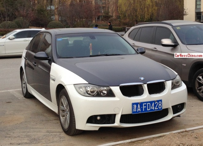 BMW 3-Series is black & white in China