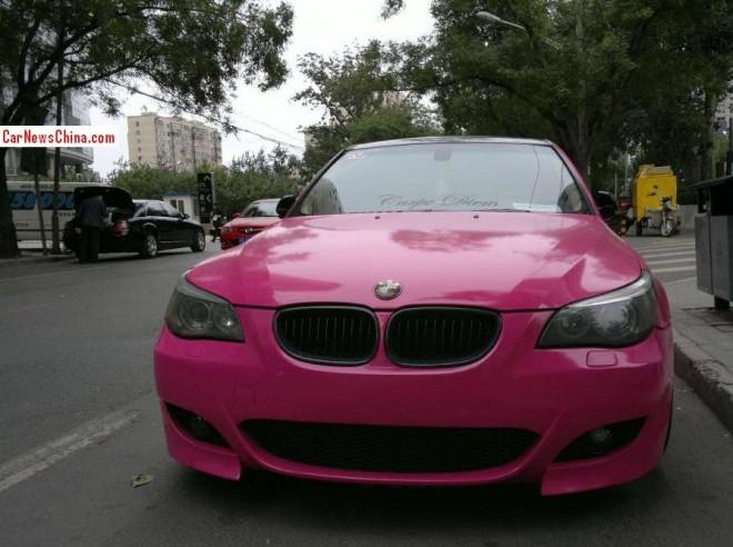 bmw-5li-pink-china-3