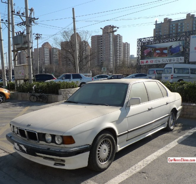 Spotted in China: E32 BMW 7-Series with AC Schnitzer body kit