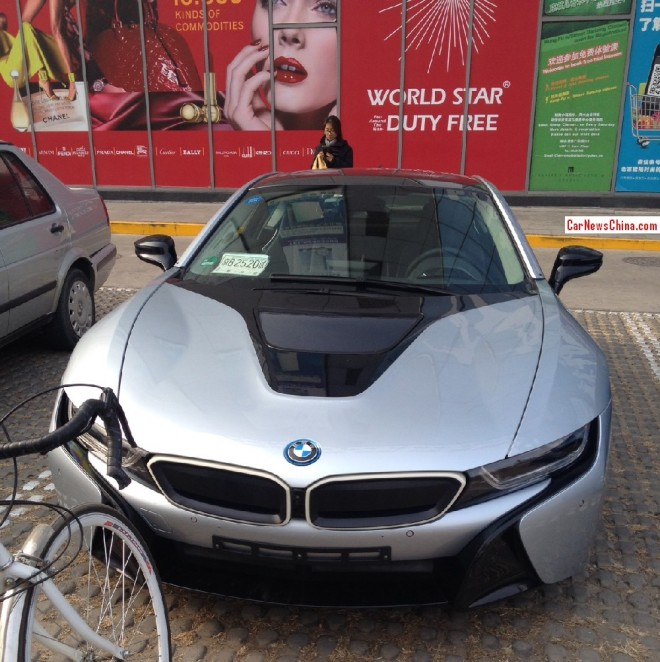 Spy Shots: BMW i8 seen testing in China again