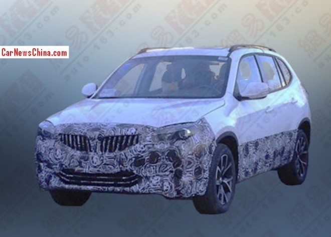 Spy Shots: facelift for the Brilliance V5 SUV in China