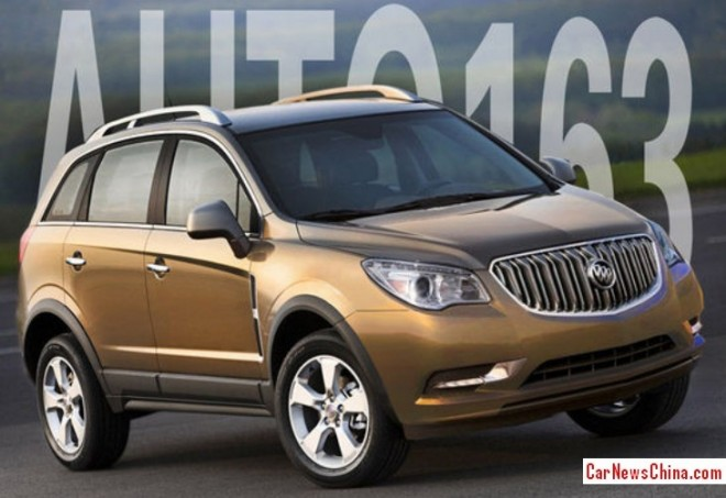 Buick Anthem will be made in China from 2014