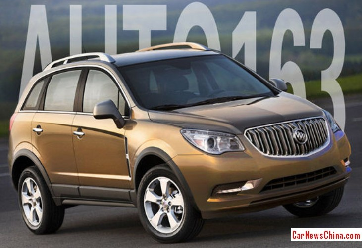 Buick Anthem Will Be Made In China From 2017