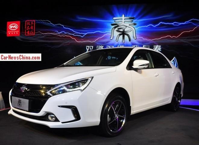 BYD Qin hybrid hits the China car market