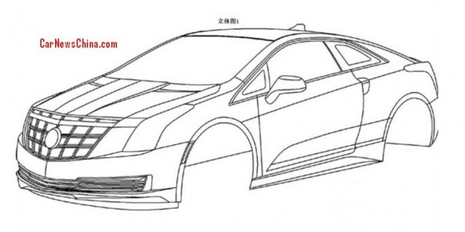 Patent Applied: Cadillac ELR will come to China