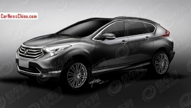 Rendered Speculation: Changan CS95 SUV for the China car market