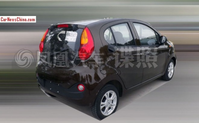 Spy Shots: Chery QQ going electric in China