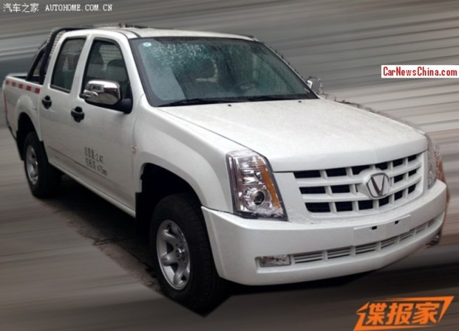 China clones the Cadillac Escalade EXT pickup truck