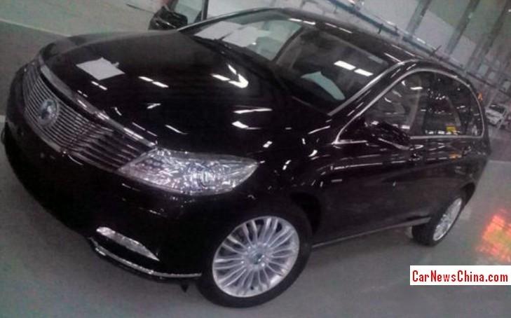 Spy Shots: BYD-Daimler Denza EV seen Naked in the Factory