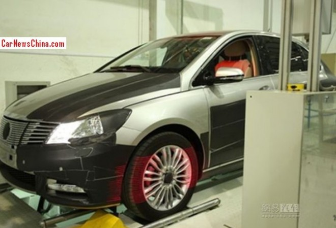 Spy Shots: Daimler-BYD Denza EV seen testing in the Factory in China