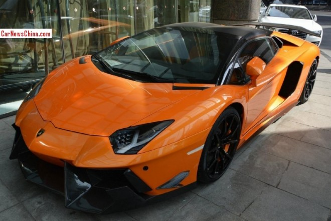 Spotted in China: DMC Lamborghini Aventador LP-900 SV Limited Edition Roadster