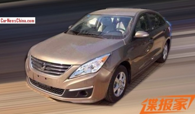 Spy Shots: new Dongfeng Fengxing sedan seen testing in China