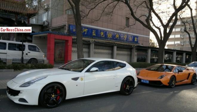 Spotted in China: Ferrari FF & Lamborghini Gallardo Superleggera
