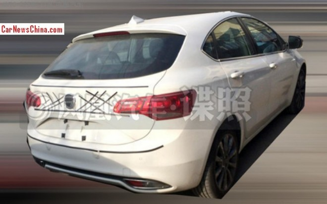 Spy Shots: Fiat Ottimo testing in China