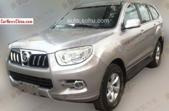 Spy shots: Foton U201 SUV is almost Ready for the China car market