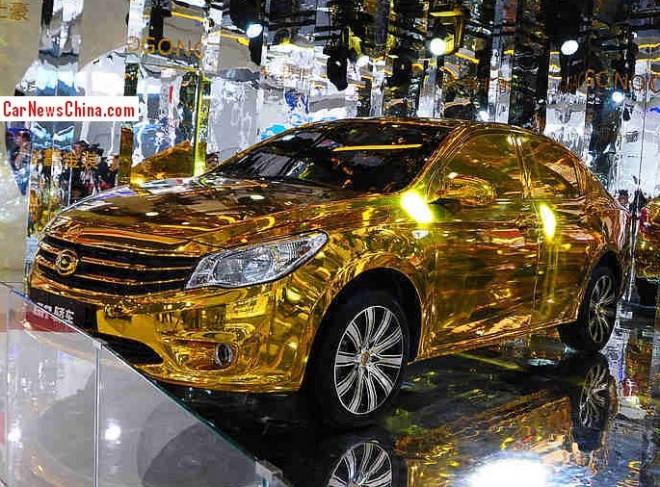 Gonow GA sedan will hit the China car market in January