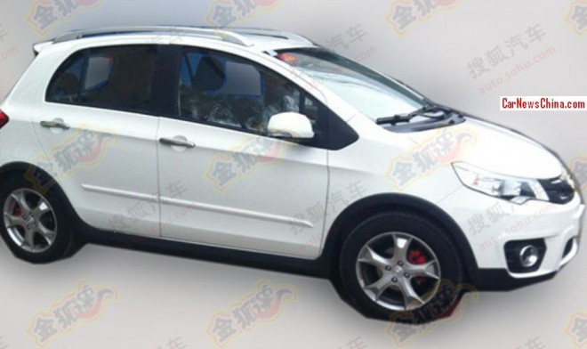 Spy Shots: Great Wall C20R EV testing in China