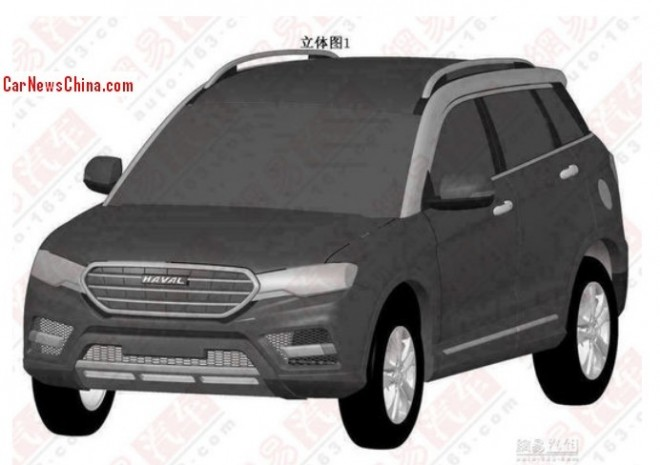 Patent Applied: new variant for the Haval H7 SUV