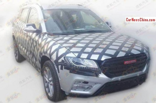 Spy Shots: Haval H7 SUV testing in China