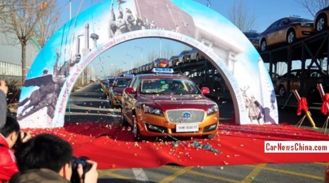 Hawtai Motor exports 200 Lu Sheng E70 taxis to North Korea