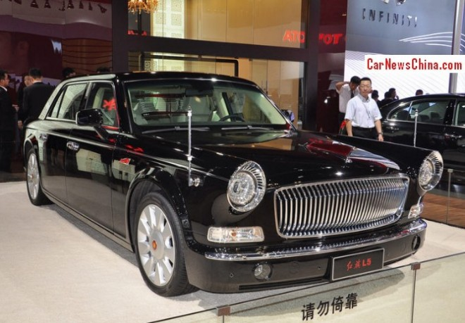 Hongqi L5 will hit the China car market in 2014