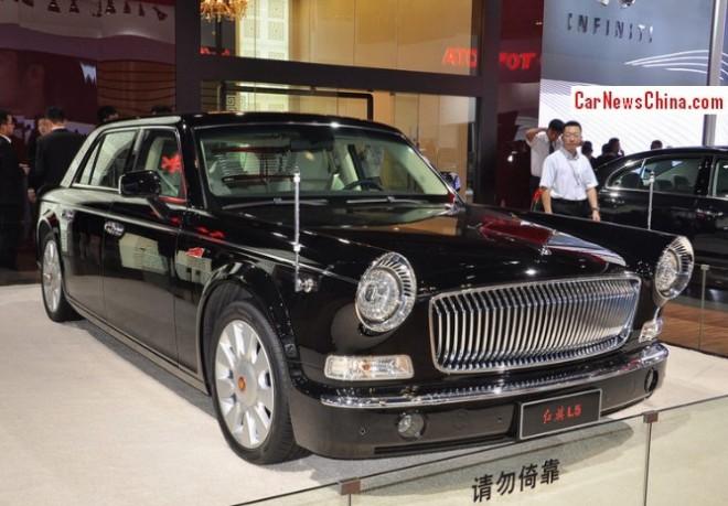 Hongqi L5 will hit the China car market in 2014